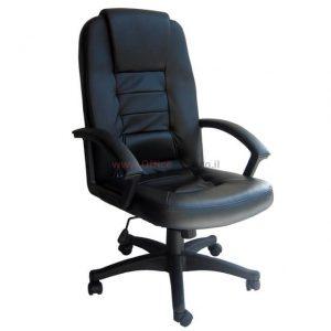 כסא מנהלים דגם ברוש בריפוד PU שחור