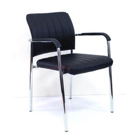 כסא אורח NOGA בריפוד דמוי עור