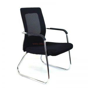 כורסת המתנה גב רשת +מושב מרופד -דגם TOMER