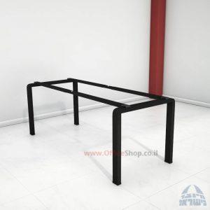 קיט רגלי מתכת טלסקופיותלשולחן משרדיMORO בצבע שחור