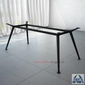 רגל מתכת לשולחן ישיבות דגם SPIDER בצבע שחור