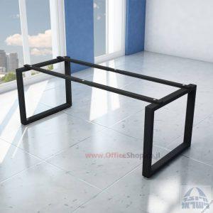 קיט רגלי מתכת טלסקופיותלשולחן כתיבה Window בצבע שחור