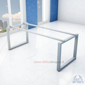 קיט רגלי מתכת טלסקופיותלשולחן כתיבה Window בצבע כסף