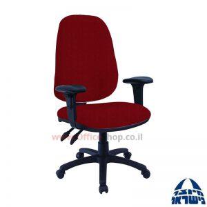 כסא מזכירה משרדידגם Romi + ידיותמתכווננות