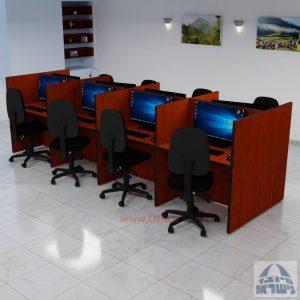 עמדת טלמרקטינג דו צדדית ל 8 עובדים