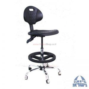 כסא מעבדה גבוה מיקה-M2 בסיס ניקל