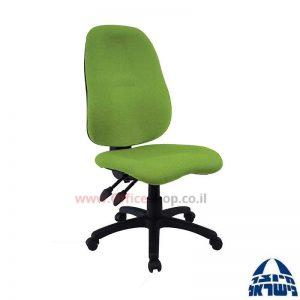 כסא מזכירה דגם Romi + מושב ארגונומי ללא ידיות