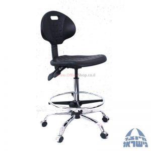 כסא מעבדה גבוה מיקה – M2 - כרום ניקל