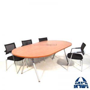 שולחן לחדר ישיבות דגם Premium