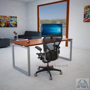 Diamondשולחן כתיבה יוקרתי למשרדרגל כסופה