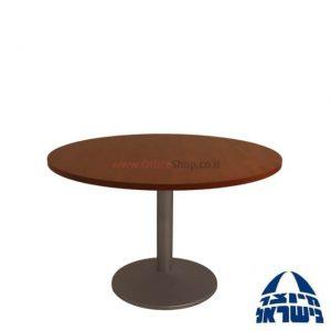"""שולחן ישיבות עגול דגם GAMBO קוטר 80 עד 120 ס""""מ"""