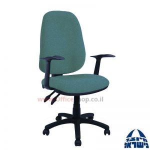 כסא מזכירה משרדי דגם Romi כולל ידיות ארגונומיות