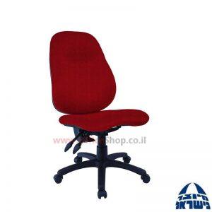 כסא מזכירה דגם Galya + מושב ארגונומי ללא ידיות