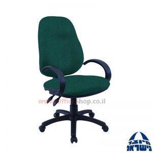 כסא מזכירה משרדי דגם Galya כולל ידיות סהר