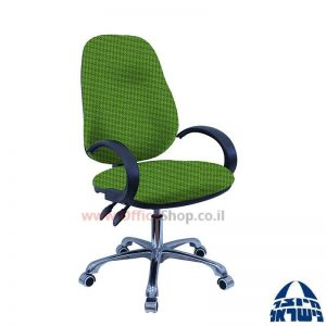 כסא מזכירה דגם Galya פרימיום + ידיות סהר