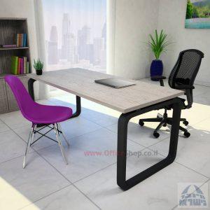 שולחן כתיבה יוקרתי Ola ללאמיסתור – רגל שחורה