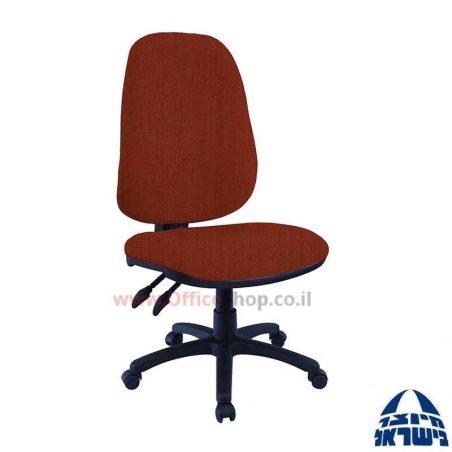 כסא מזכירה דגם גל Romi פרימיום כולל מושב ארגונומי ללא ידיות