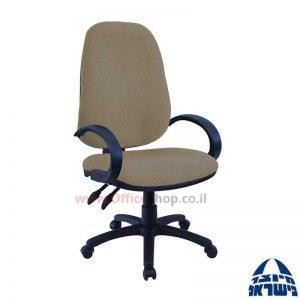 כסא מזכירה משרדי דגם Romi כולל ידיות סהר