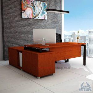 שולחן מנהלים פינתי דגם Sapir