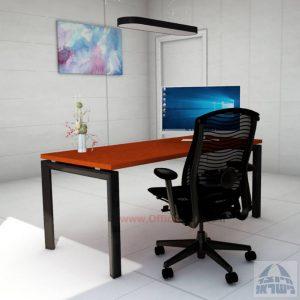 Sapir: שולחן כתיבה משרדי מפואר רגל שחורה
