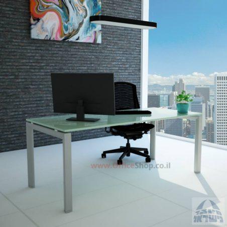 שולחן כתיבה זכוכית - Sapir Glass