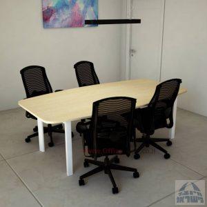 שולחן ישיבות יוקרתי דגם Sapir רגללבנה