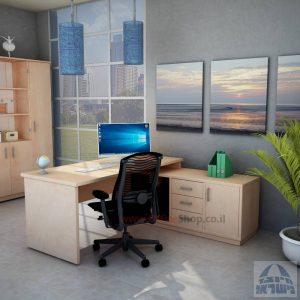 שולחן מנהלים יוקרתי דגםSheratonכולל שלוחת מנהלים