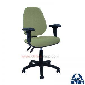 כסא מזכירה משרדידגם Topaz + ידיותמתכווננות
