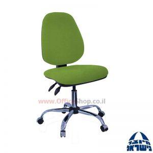 כסא מזכירה דגם Topaz פרימיום ללא ידיות