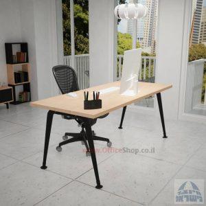 שולחן כתיבה מעוצב דגם Keren רגלשחורה