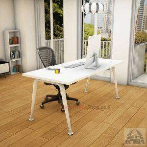 שולחן כתיבה מעוצב דגם Keren רגללבנה
