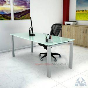 שולחן כתיבהזכוכית מחוסמת דגם Moro Glass