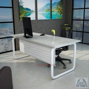 שולחן כתיבה יוקרתי דגם Ring רגל צינור