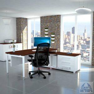 שולחן מנהלים פינתי דגם Tomer