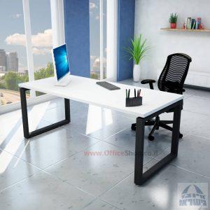 שולחן כתיבה יוקרתי דגם Window רגל שחורה
