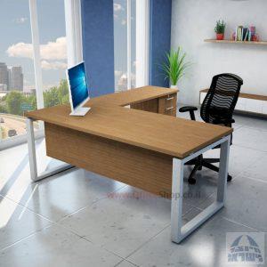 שולחן מזכירה פינתי דגם  Window – M5