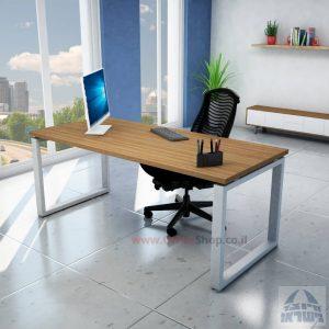 שולחן כתיבה איכותי דגם Window רגל כסופה
