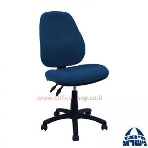 כסא מזכירה משרדי דגם Gal ללא ידיות