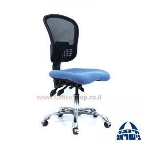 כיסא מזכירה ארגונומי דגם Ofira פרימיום גב רשת + מושב ארגונומי