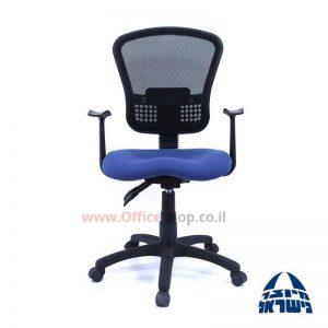 כיסא מזכירה ארגונומי דגם OFIRA גב רשת