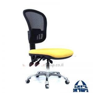כיסא מזכירה ארגונומי דגם Ofira פרימיום גב רשת