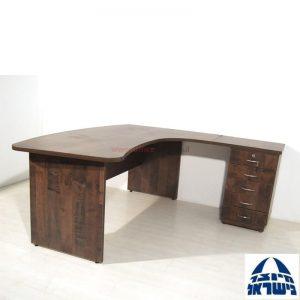 שולחן עבודה ארגונומי דגם Sheraton+מגירות