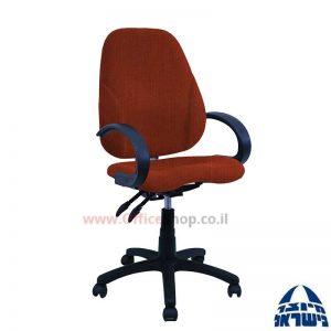 כסא מזכירה דגם Gal + מושב ארגונומי כולל ידיות סהר