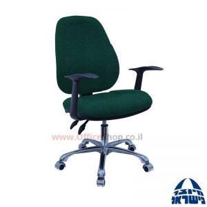 כסא מזכירה דגם Gal פרימיום + ידיות ארגונומיות