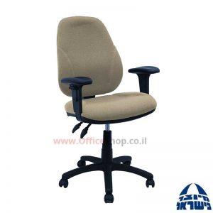 כסא מזכירה משרדידגם Gal + ידיותמתכווננות