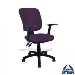 כסא מזכירה משרדי דגם Ofir כולל ידיות ארגונומיות