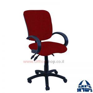 כסא מזכירה דגם Ofir + מושב ארגונומי כולל ידיות סהר