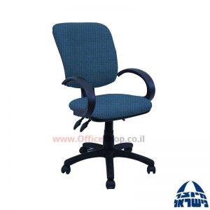 כסא מזכירה משרדי דגם Ofir כולל ידיות סהר
