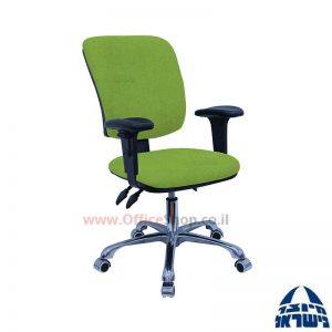 כסא מזכירה דגם Ofir פרימיום + ידיות מתכווננות