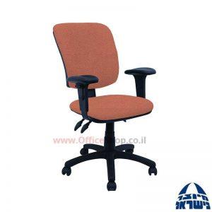 כסא מזכירה משרדידגם Ofir + ידיותמתכווננות
